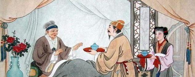 儿子开吊车将母亲举高摘枣,你知道古人是如何体现孝道的?