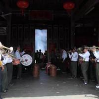 每年的清明时节,上杭李氏大宗祠香火积极旺盛
