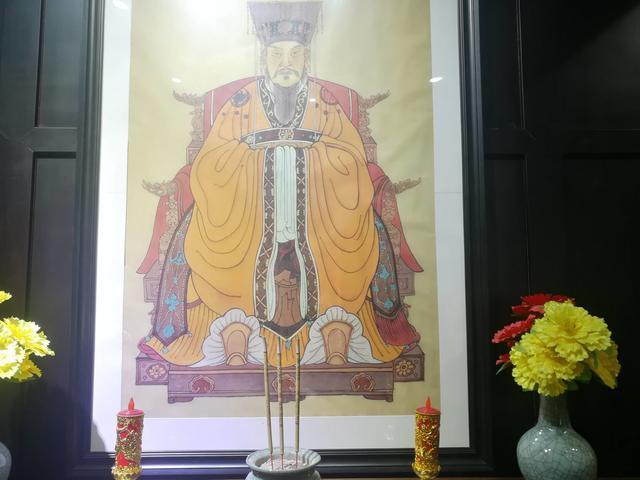 陈武帝故宫迎放第六次修成的陈塔陈氏宗谱