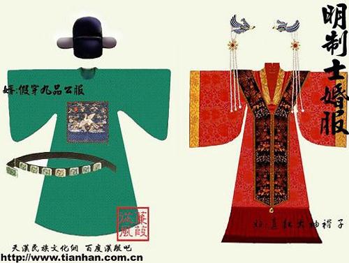 中国古今婚服演变史,不只有西方婚纱和凤冠霞披