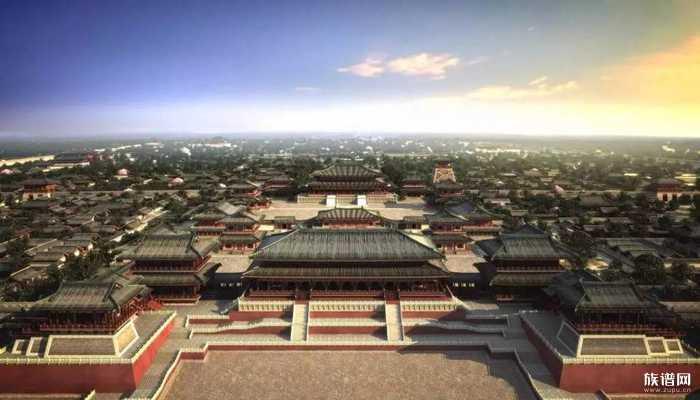 大唐强盛时期的建筑——大明宫!