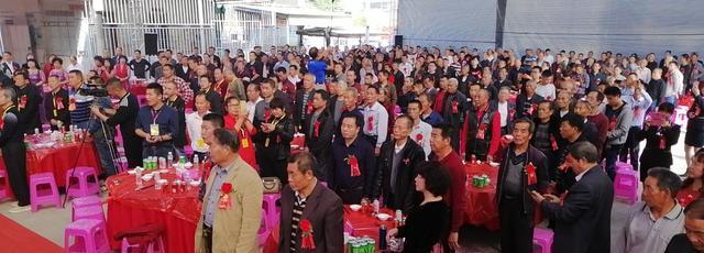 潮安江夏文化研究会成立十周年庆典