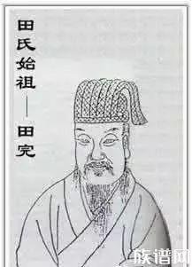 田氏历代五大先祖