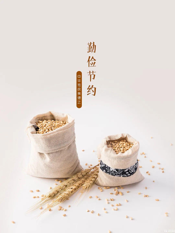 中华传统美德之勤俭节约